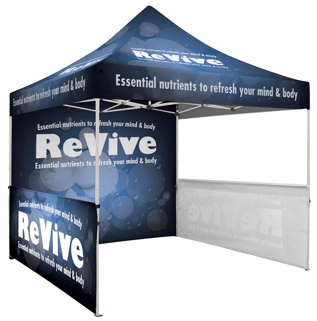 Event Graphics - Printed Tent