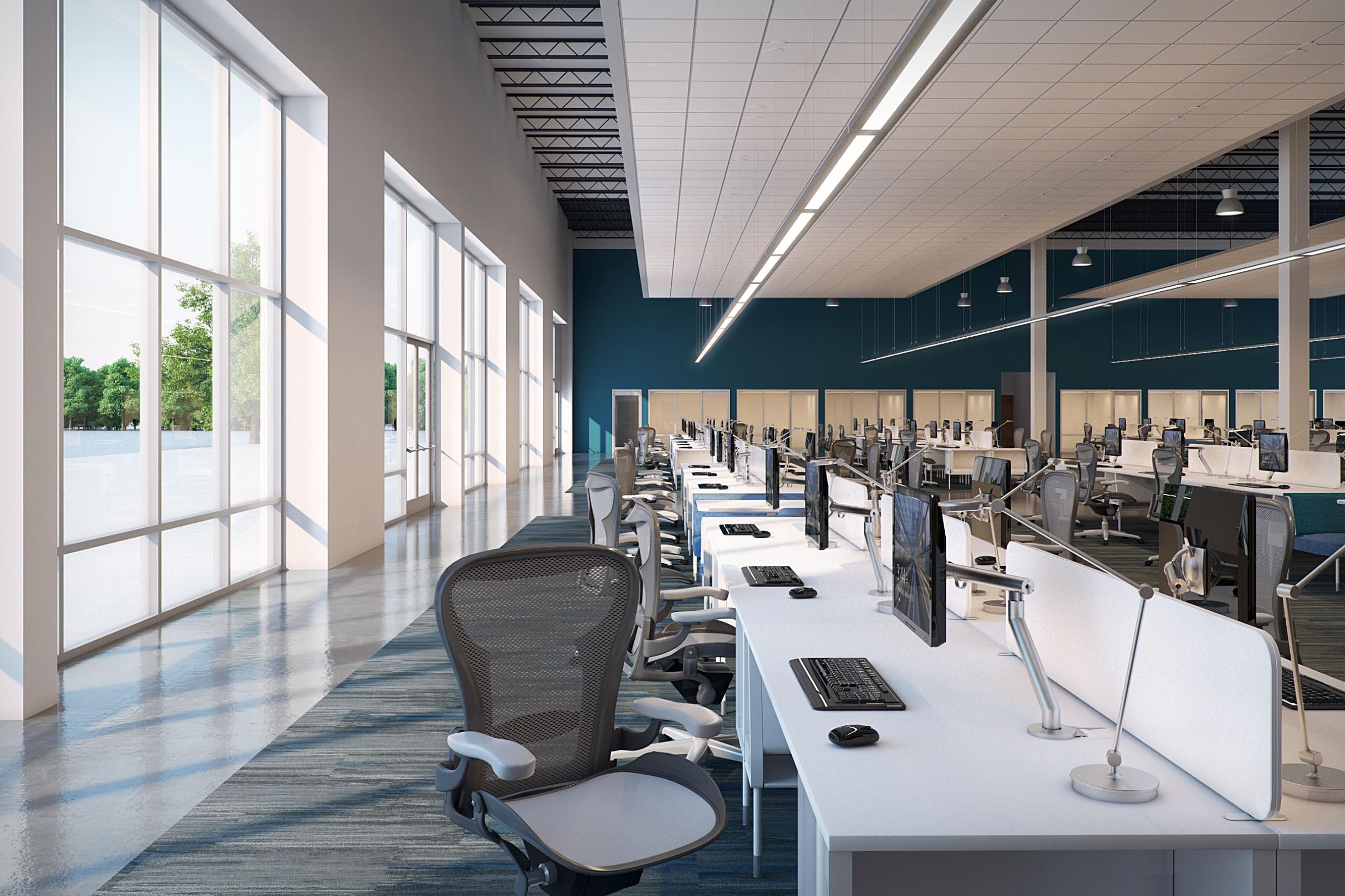 cahaya natural kantor