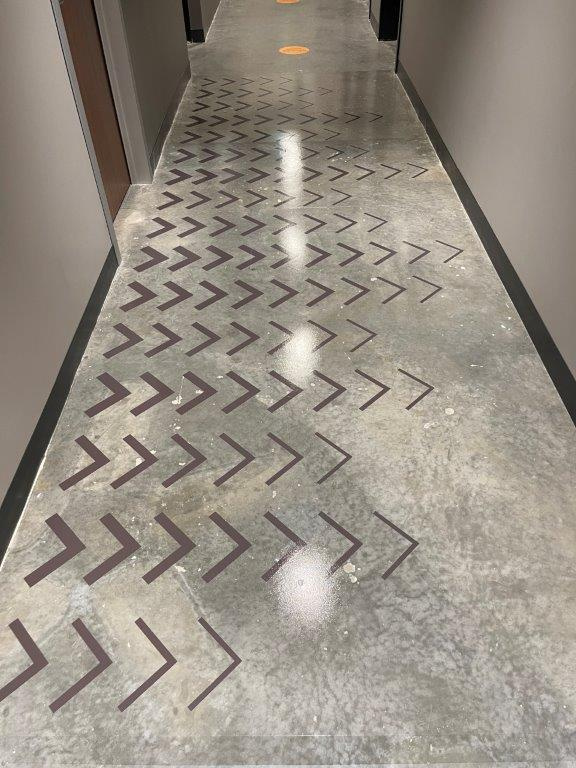 Office Floor Graphics in Vancouver 11