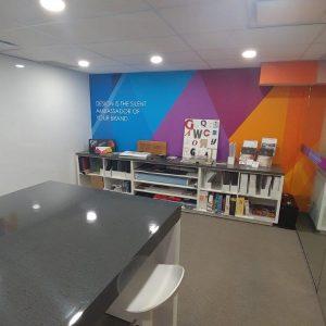 MGL Office Improvement Environmental Graphics