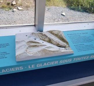 3d Glacier Graphic