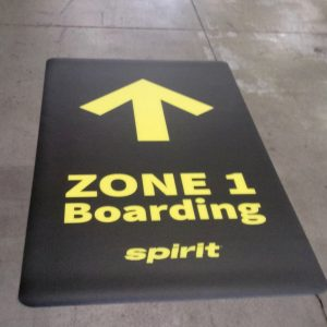 Airport Floor Decal - 1