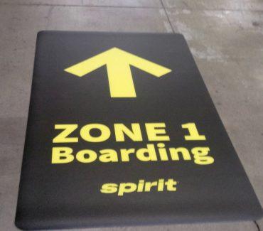 Airport Floor Decal - 1