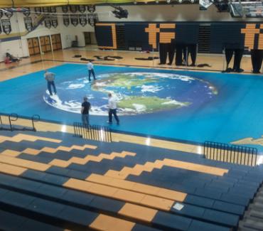 Arena Floor Graphics - 1