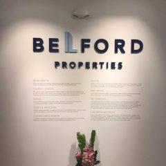 BELFORD 3D LOGO