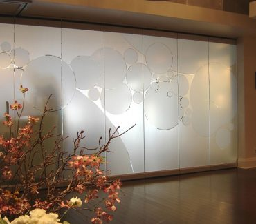 Decorative Fasara Film - Office Window