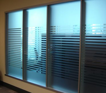 Fasara Privacy Film on Office Windows