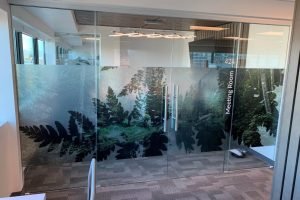 Frosted Window Film - Printed