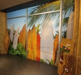 Interior Graphics - Sneeki Tiki