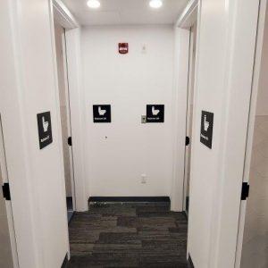 Interior Wayfinding - Washroom Signs