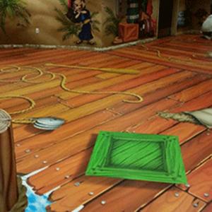 Museum Floor Graphics