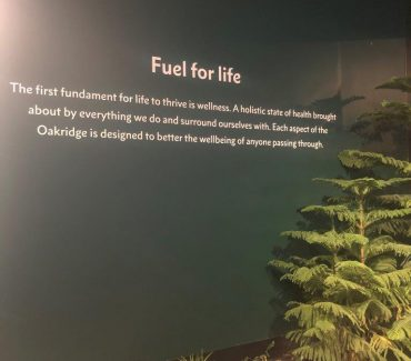 Oakridge Exhibit Graphics
