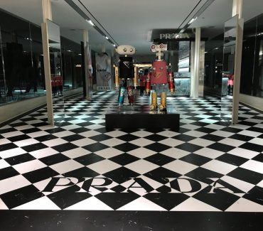 Prada Retail Signs - Floor Graphics 8