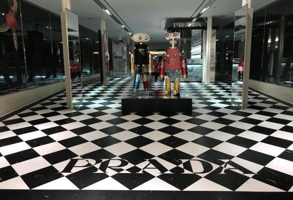 Prada Retail Signs - Floor Graphics 8