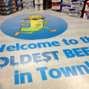 Retail Floor Graphics - 13