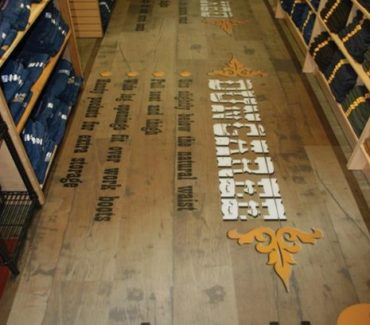 Retail Floor Graphics - 3