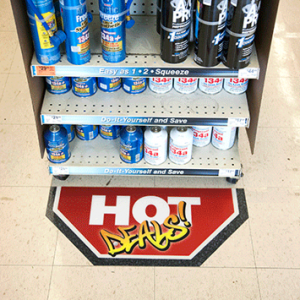 Retail Floor Graphics - 8