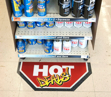 Retail Floor Graphics - 8