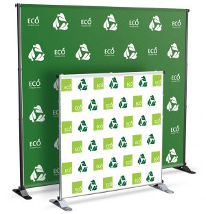 Step and Repeat Banner Stand 2