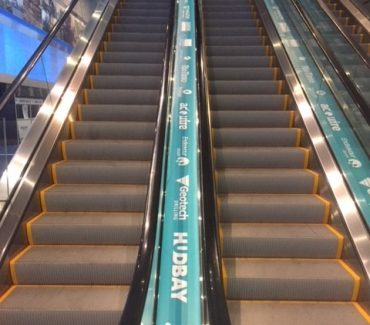 VCC Trade Show Escalator Graphics 2
