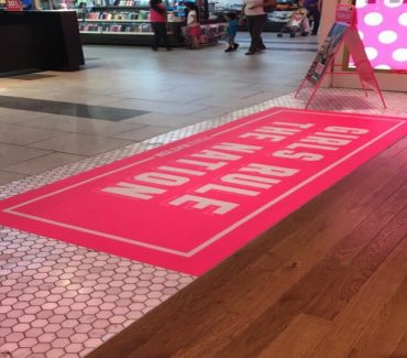Wayfinding Floor Signs - 1