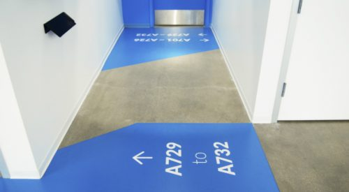 Wayfinding Floor Signs - 7