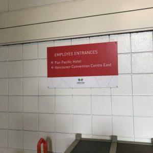 Wayfinding Signage - Canada Place 10