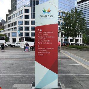 Wayfinding Signage - Canada Place 11