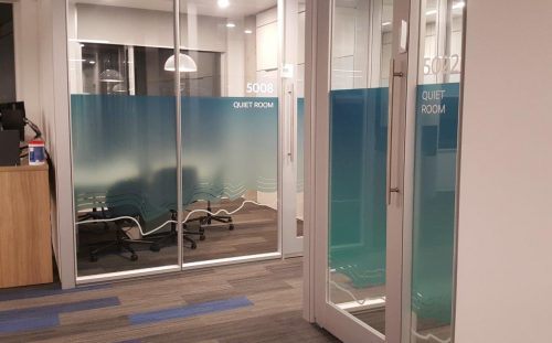Window Graphics and Privacy Film Vancouver 24